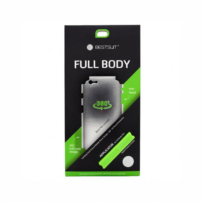 محافظ صفحه نمایش بست سوت مدل Full Body Transparent مناسب برای گوشی موبایل سامسونگ S8 Plus