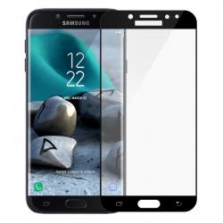 محافظ صفحه نمایش تمپرد مدل فول چسب مناسب برای گوشی موبایل سامسونگ Galaxy J7 Pro