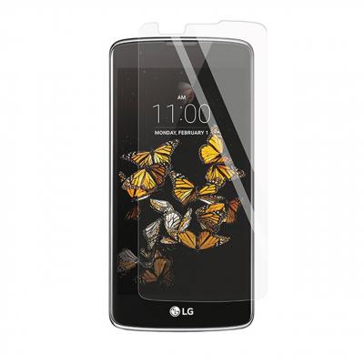 محافظ صفحه نمایش شیشه ای مدل Tempered مناسب برای گوشی موبایل ال جی K8 (بی رنگ شفاف)