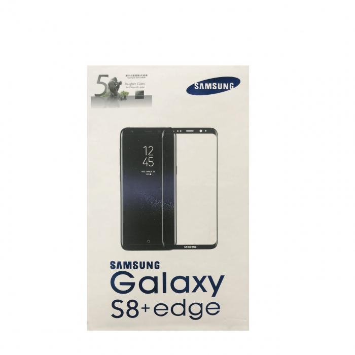 محافظ صفحه نمایش شیشه ای  مدل Full Cover مناسب برای گوشی موبایل سامسونگ Galaxy S8 Plus