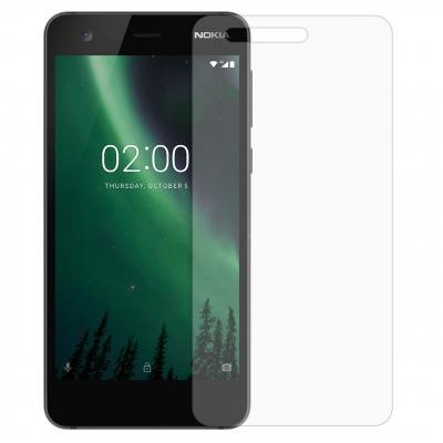 محافظ صفحه نمایش شیشه ای مدل Tempered مناسب برای گوشی موبایل نوکیا 2 (بی رنگ)