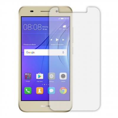 محافظ صفحه نمایش شیشه ای مدل Tempered مناسب برای گوشی موبایل هوآوی Y3 2017 (بی رنگ)