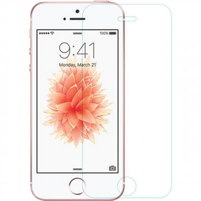 محافظ صفحه نمایش شیشه ای نیلکین مدل Amazing H Anti-Explosion مناسب برای گوشی موبایل آیفون 5s/SE (بی رنگ شفاف)