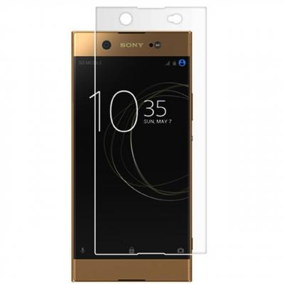 محافظ صفحه نمایش شیشه ای تمپرد مناسب برای گوشی موبایل سونی Xperia XA1 Ultra (بی رنگ شفاف)