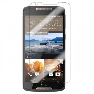 محافظ صفحه نمایش شیشه ای 9H مناسب برای گوشی اچ تی سی Desire 828 (بی رنگ)