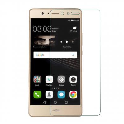 محافظ صفحه نمایش شیشه ای مدل Tempered مناسب برای گوشی موبایل هوآوی P9 lite (بی رنگ شفاف)