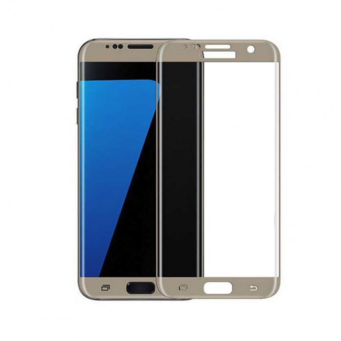 محافظ صفحه نمایش شیشه ای موکول مدل 3D Cover مناسب برای گوشی موبایل سامسونگ گلکسی S7 Edge