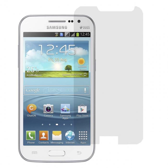 محافظ صفحه نمایش شیشه ای9 اچ مناسب برای گوشی موبایل سامسونگ گلکسی Win