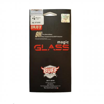 محافظ صفحه نمایش شیشه ای بوف مدل نانو تاپ مناسب برای گوشی آیفون 6/6S (بی رنگ شفاف)