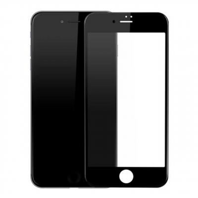 محافظ صفحه نمایش شیشه ای مدل Full Cover Tempered مناسب برای گوشی اپل آیفون 8/7 (سفید)