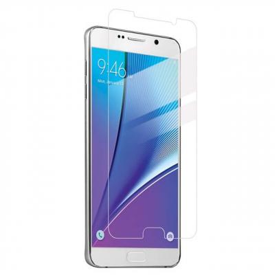 محافظ صفحه نمایش شیشه ای 9 اچ مناسب برای گوشی سامسونگ Note 5 (بی رنگ)