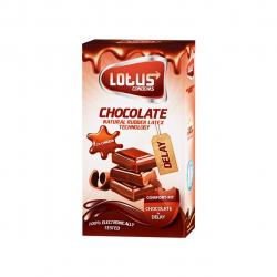 کاندوم لوتوس مدل شکلات بسته 12 عددی