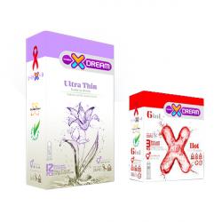 پک بهداشتی جنسی ایکس دریم مدل X6 مجموعه 2 عددی