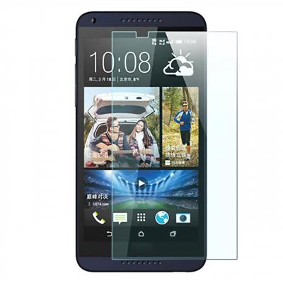 محافظ صفحه نمایش شیشه ای مدل Tempered مناسب برای گوشی موبایل اچ تی سی Desire 816 (بی رنگ شفاف)