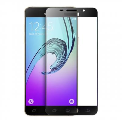 محافظ صفحه نمایش شیشه ای تمپرد مدل Full Cover مناسب برای گوشی موبایل سامسونگ Galaxy A7 2016 (مشکی)