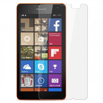 محافظ صفحه نمایش شیشه ای تمپرد مناسب برای گوشی موبایل مایکروسافت Lumia 540 (بی رنگ شفاف)