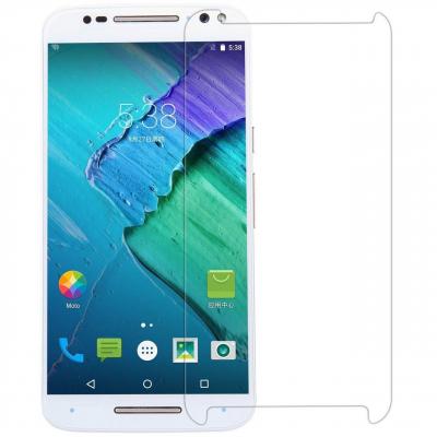 محافظ صفحه نمایش شیشه ای تمپرد مناسب برای گوشی موبایل موتورولا Moto X Style (بی رنگ شفاف)