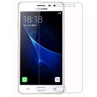 محافظ صفحه نمایش شیشه ای مدل تمپرد مناسب برای گوشی موبایل سامسونگ J3 Pro (بی رنگ شفاف)