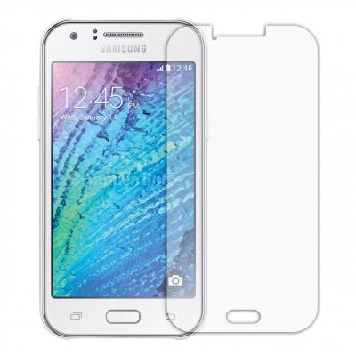 محافظ صفحه نمایش شیشه ای مدل Tempered مناسب برای گوشی موبایل سامسونگ Galaxy J1 (بی رنگ)