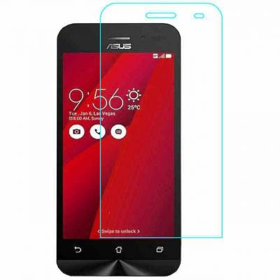 محافظ صفحه نمایش شیشه ای تمپرد مناسب برای گوشی Asus Zenfone Go ZB452KG (بی رنگ شفاف)