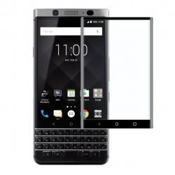 محافظ صفحه نمایش شیشه ای تمپرد مدل Full Cover  مناسب برای بلک بری Keyone