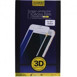 محافظ صفحه نمایش شیشه ای جی سی کام مدل 3D مناسب برای گوشی موبایل اپل آیفون 7