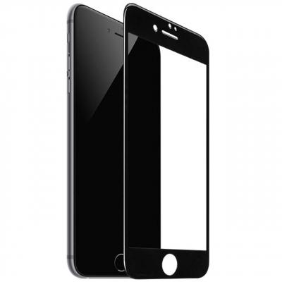 محافظ صفحه نمایش شیشه ای موکول مدل 3D Curve مناسب برای گوشی موبایل آیفون 7 Plus (مشکی)