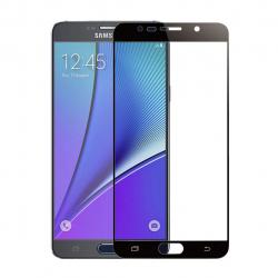محافظ صفحه نمایش شیشه ای تمپرد مدل Full Cover مناسب برای گوشی موبایل  سامسونگ Galaxy Note 5