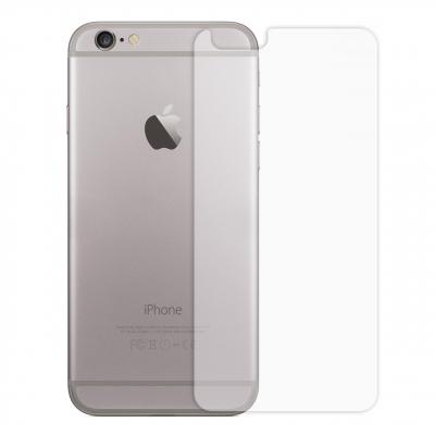 محافظ پشت گوشی شیشه ای مدل Temperedمناسب برای گوشی موبایل اپل آیفون 6/6S (بی رنگ)