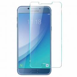 محافظ صفحه نمایش شیشه ای 9 اچ مناسب برای گوشی سامسونگ C5 Pro