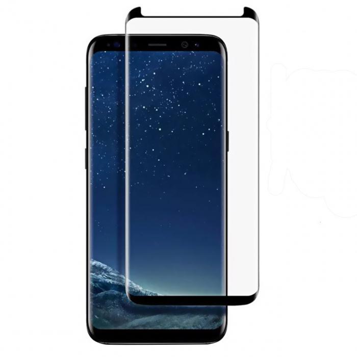 محافظ صفحه نمایش تمپرد مدل فول چسب مینی ورژن مناسب برای گوشی موبایل سامسونگ Galaxy S8 Plus