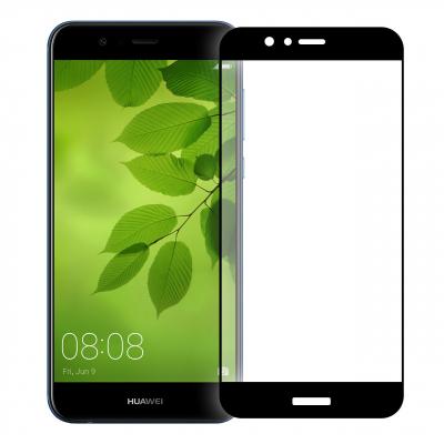 محافظ صفحه نمایش شیشه ای تمپرد مدل Full Cover مناسب برای گوشی هوآوی Nova 2 Plus (سفید)