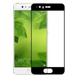 محافظ صفحه نمایش شیشه ای تمپرد مدل Full Cover مناسب برای گوشی موبایل هوآوی P10 (سفید)