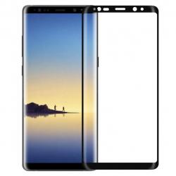 محافظ صفحه نمایش شیشه ای تمپرد ایکس او مدل Full Cover مناسب برای گوشی موبایل سامسونگ Galaxy Note 8 (مشکی)