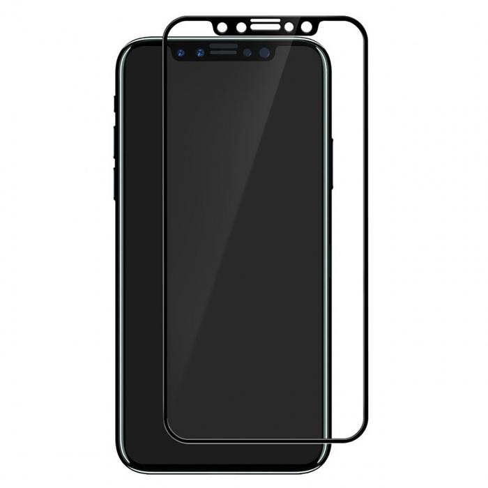 محافظ صفحه نمایش شیشه ای موکول مناسب برای گوشی موبایل اپل آیفون X