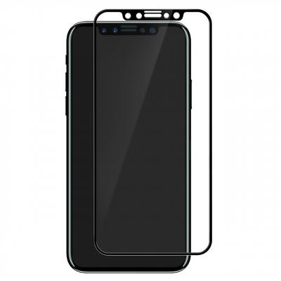 محافظ صفحه نمایش شیشه ای موکول مناسب برای گوشی موبایل اپل آیفون X (مشکی)
