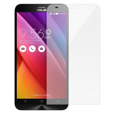 محافظ صفحه نمایش شیشه ای تمپرد مناسب برای گوشی موبایل ایسوس Zenfone 2 ZE551ML (بی رنگ شفاف)