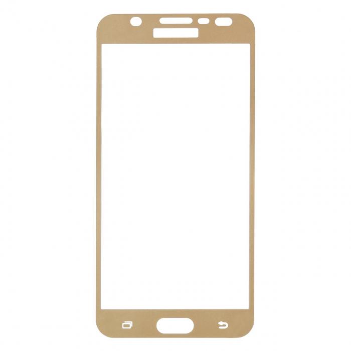 محافظ صفحه نمایش شیشه ای تمپرد مدل Full Cover مناسب برای گوشی موبایل سامسونگ Galaxy J7 Prime
