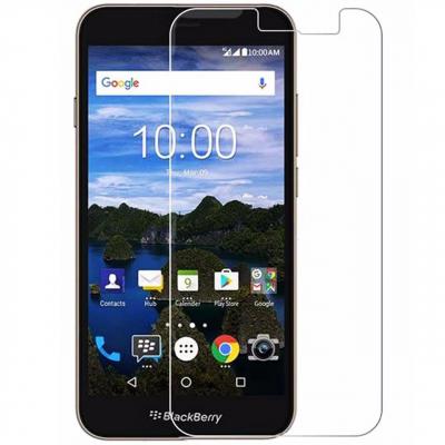 محافظ صفحه نمایش شیشه ای تمپرد مناسب برای گوشی موبایل بلک بری AURORA (بی رنگ شفاف)