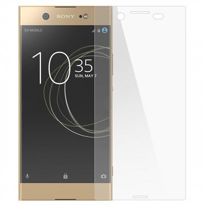 محافظ صفحه نمایش شیشه ای تمپرد مدل Full Cover مناسب برای گوشی موبایل سونی Xperia XZ Plus (بی رنگ)