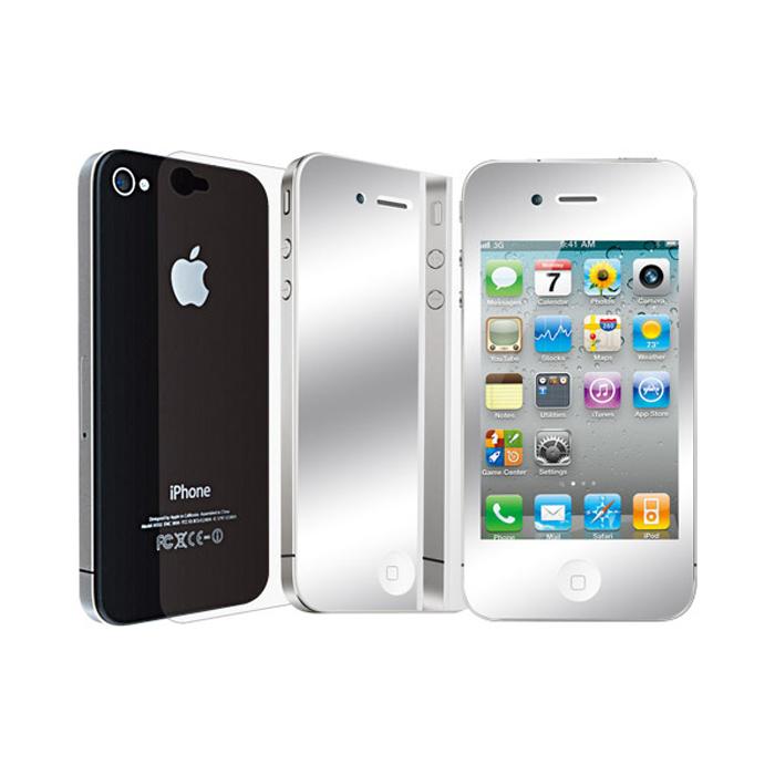 محافظ صفحه نمایش اوزاکی مدل Mirror مناسب برای گوشی موبایل آیفون 4/4S
