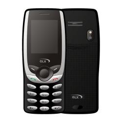 گوشی موبایل جی ال ایکس مدل N8 دو سیمکارت (سرمه ای)