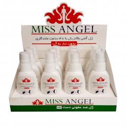 ژل ضد عفونی دست و پای بزرگسال Miss Angel حجم 75 میلی لیتر