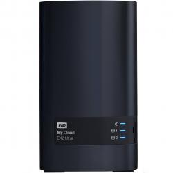 ذخیره ساز تحت شبکه وسترن دیجیتال مدل My Cloud EX2 Ultra WDBVBZ0160JCH-EESN ظرفیت 16 ترابایت
