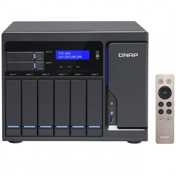 ذخیره ساز تحت شبکه کیونپ مدل TVS-882-i5-16G