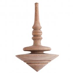 فرفره چوبی گالری کفشدوزک کد 160006 (قهوه ای)