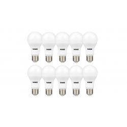 لامپ ال ای دی 9 وات تکنوتل مدل 309 پایه E27 بسته 10 عددی (آفتابی)