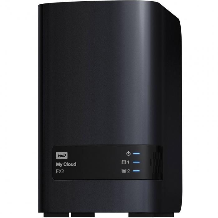 ذخیره ساز تحت شبکه وسترن دیجیتال مدل مای کلاود EX2 ظرفیت 8 ترابایت