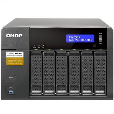 ذخیره ساز تحت شبکه کیونپ مدل TS-653A بدون هارددیسک
