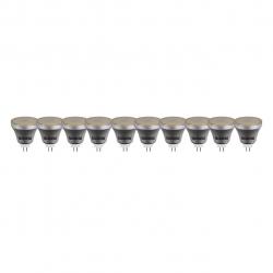 لامپ ال ای دی 3 وات تکنوتل مدل 503 پایه GU5.3 بسته 10 عددی (آفتابی)